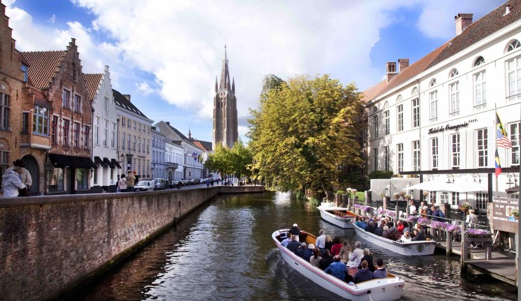 Bruges' Dijver | Jan D'Hondt / courtesy of Toerisme Brugge