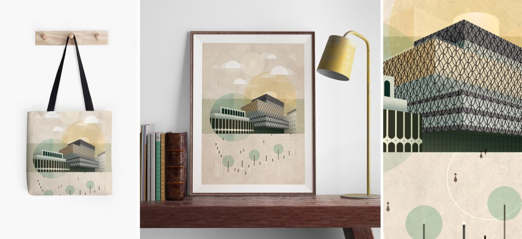 Brumhaus prints and pillow covers