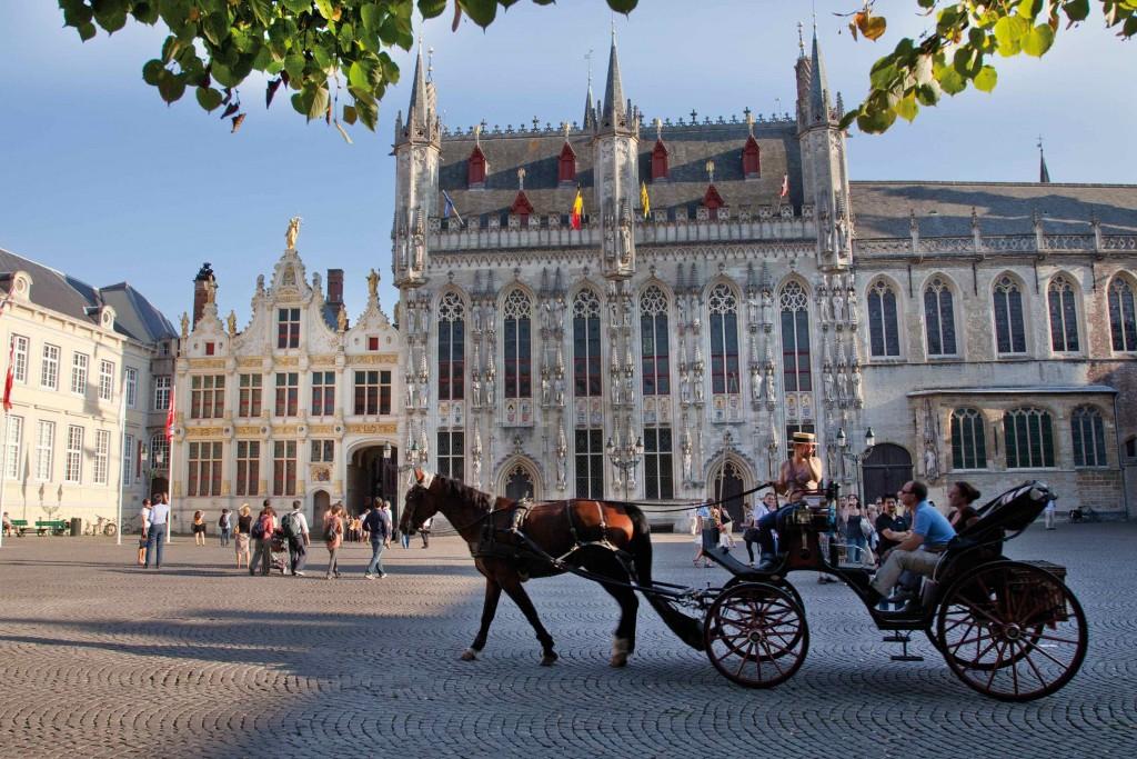 Burg Square in Bruges | © Jan D'Hondt / courtesy of Toerisme Brugge