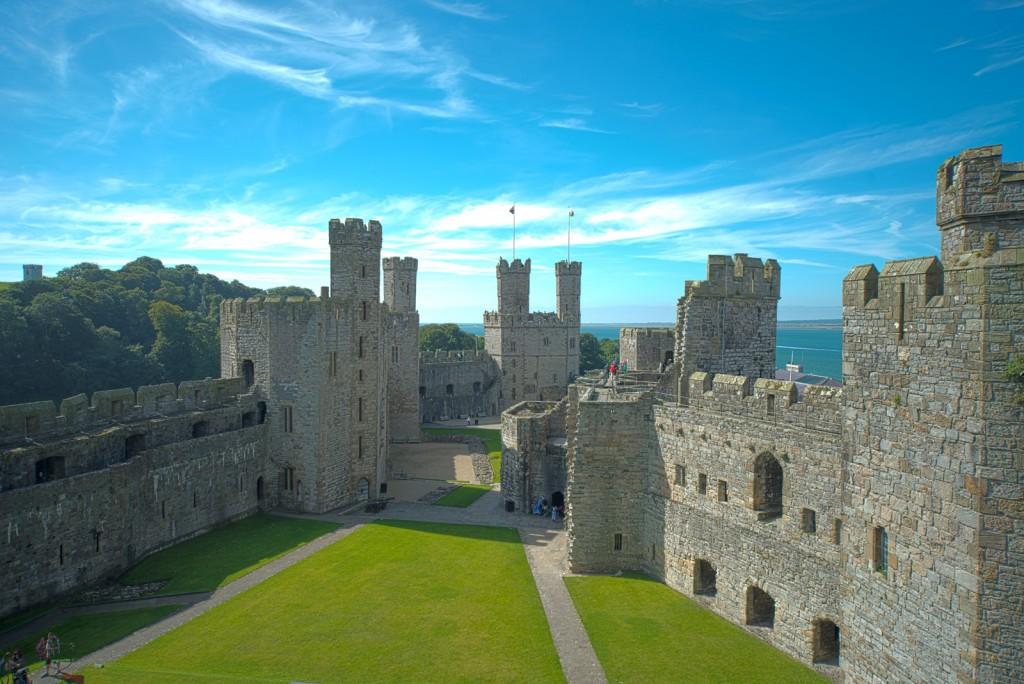 The impressive Caernarfon Castle|©Steve Collins/Flickr