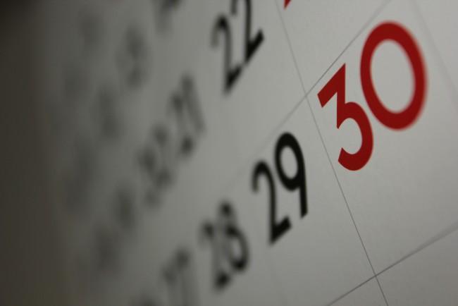 Calendar | ©Dafne Cholet/Flickr