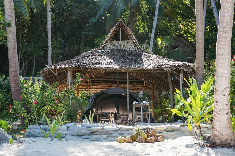 Palawan Camping | © Esther de la Cruz / SimplyPhilippines