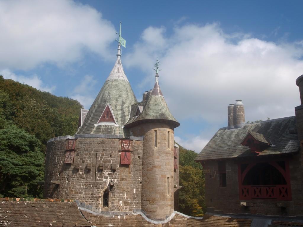 Castell Coch turret|©Martin Weller/Flickr