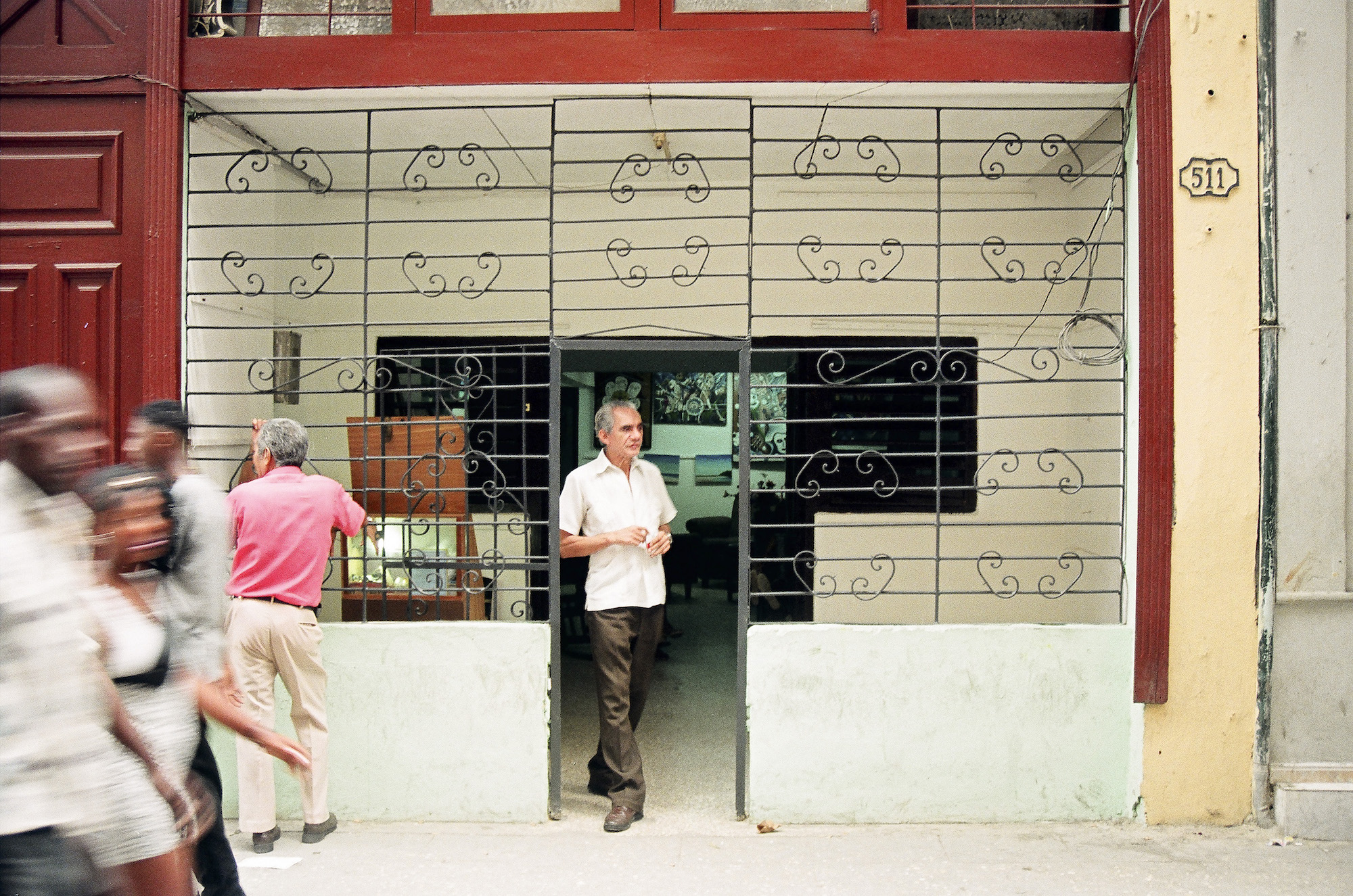 Wrought iron gate, Havana, Cuba © Cyndie Burkhardt