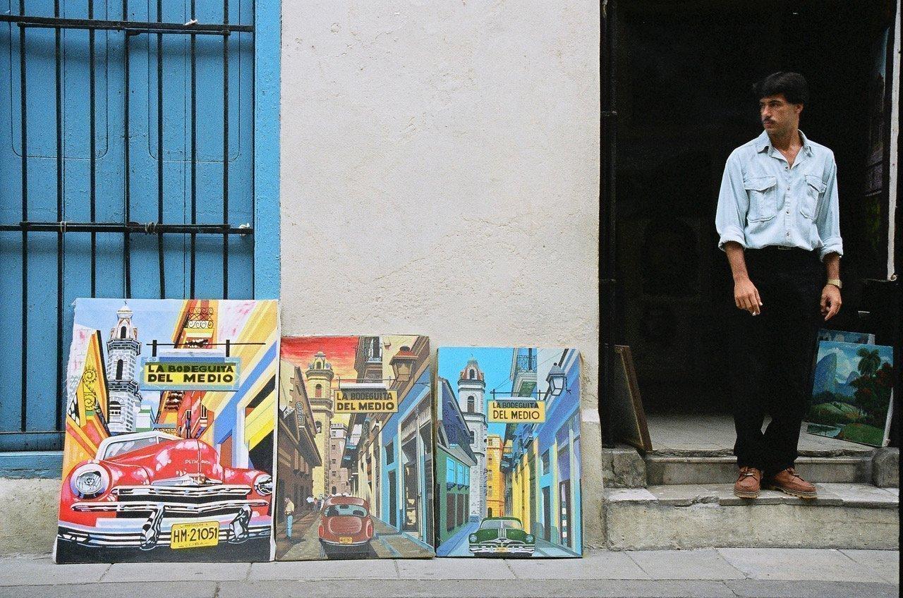 Capitalism, Havana, Cuba © Cyndie Burkhardt