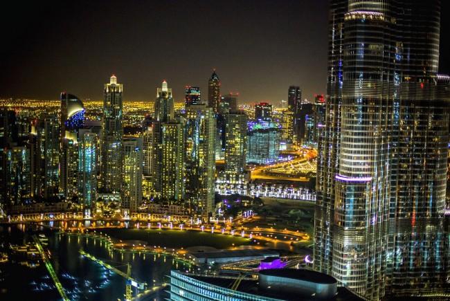 View of the Dubai Marina | ©Zizome / Pixabay http://bit.ly/2jOo6ii