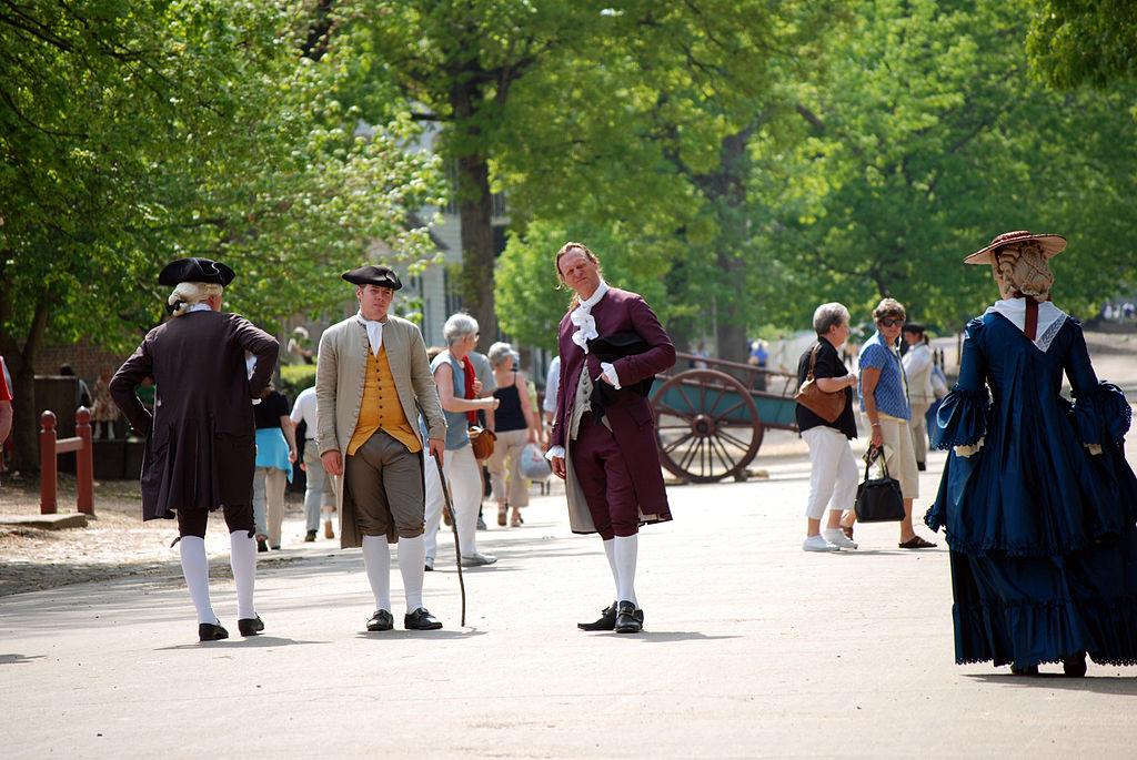 Colonial Williamsburg   © Harvey Barrison/WikiCommons