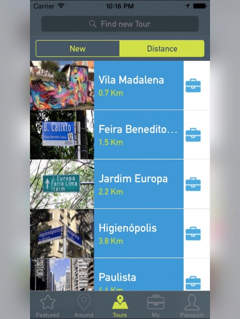 Cool Tours app © Cool Tours