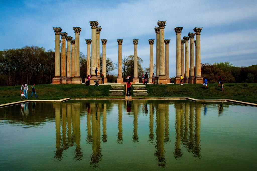 Corinthian columns at U.S. National Arboretum | © Geoff Livingston / Flickr