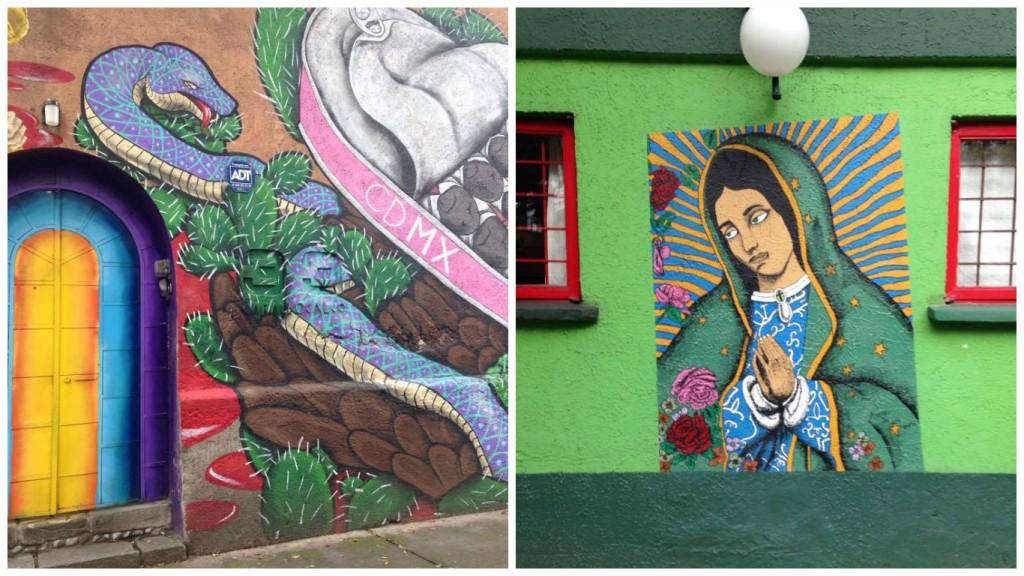 Coyoacán street art | Courtesy of author