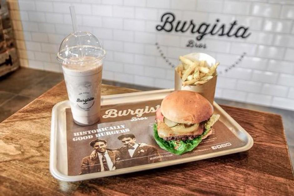 A Burgista Bros burger and fries