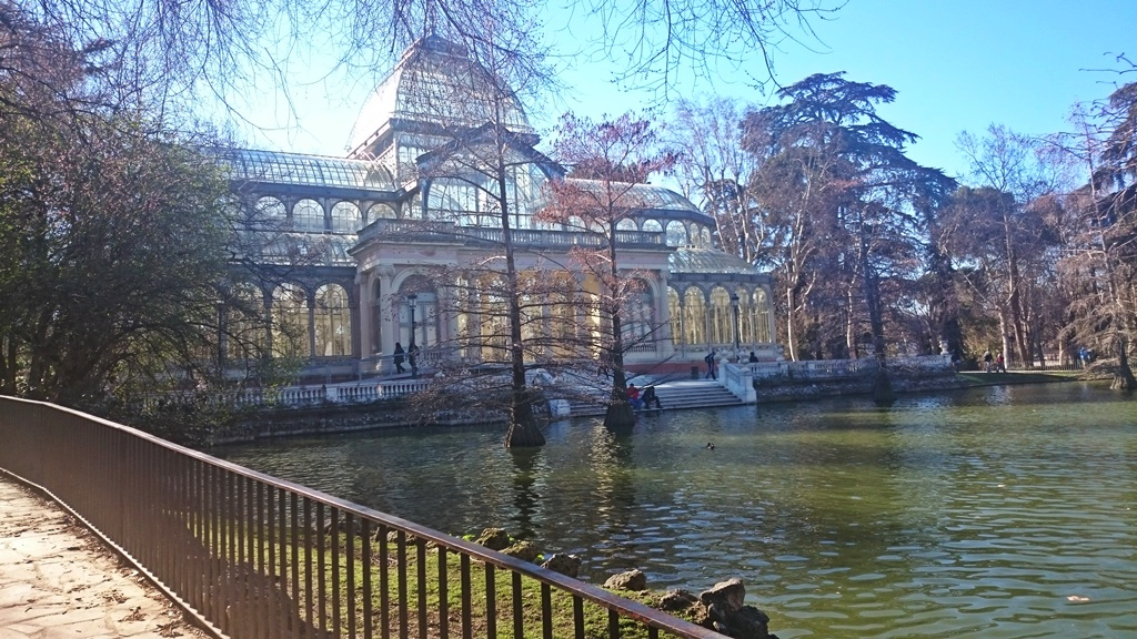 Madrid's crystal palace sparkles in the sunshine. | © Lori Zaino.
