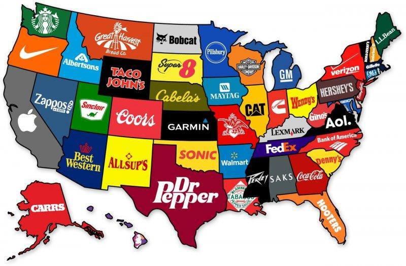 Funny And Interesting Maps That Show Just How Weird America - Map of america