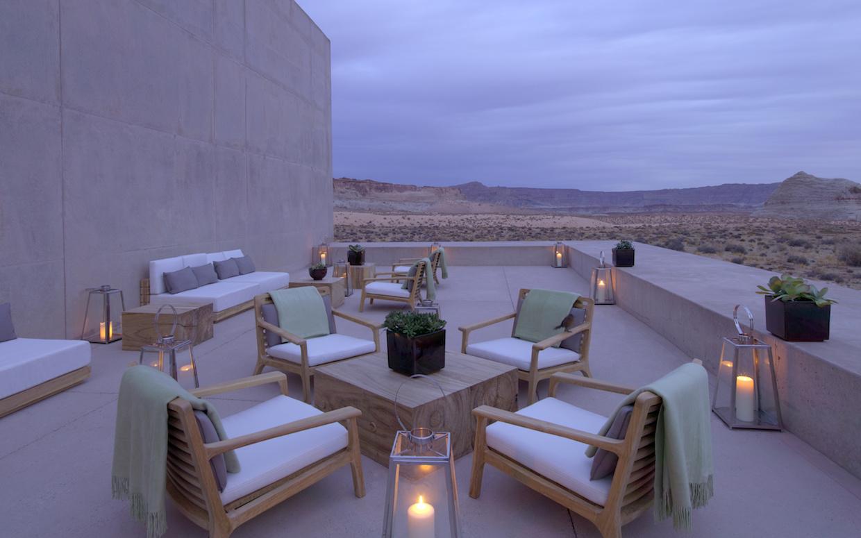 Desert Lounge Dusk | Courtesy of Aman