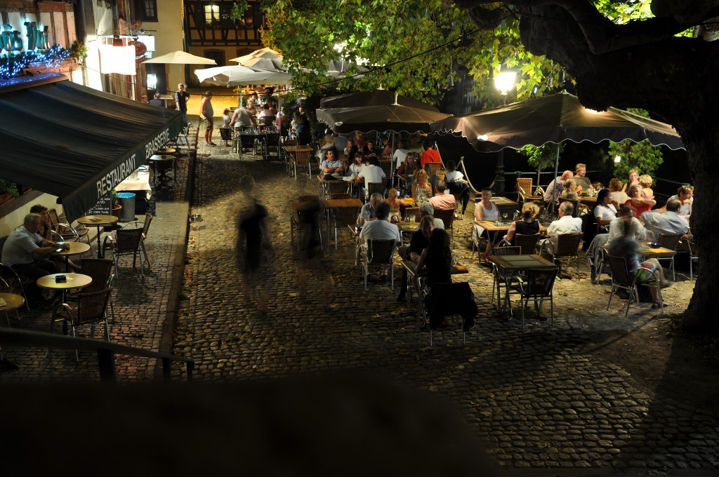 A romantic dinner in Strasbourg ©Elaine / Flickr