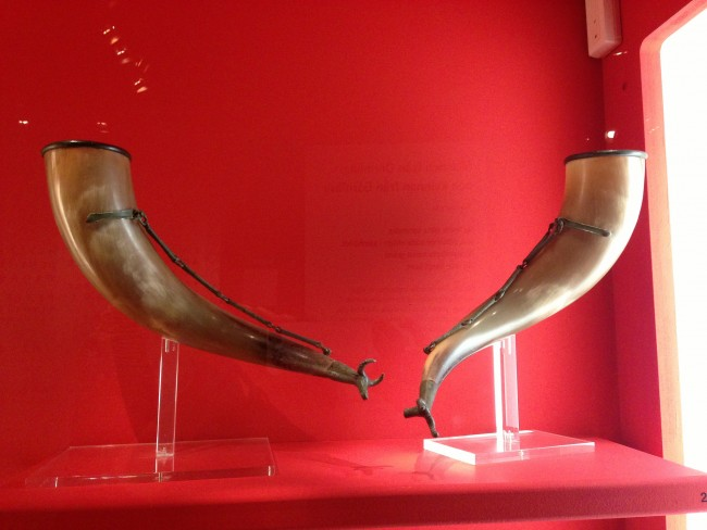 Viking drinking horns | ©Celeste Lindell/Flickr