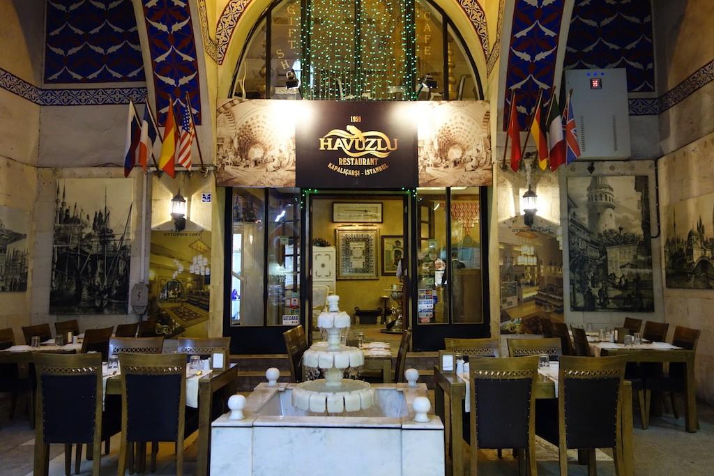 Havuzlu Restaurant   © Feride Yalav