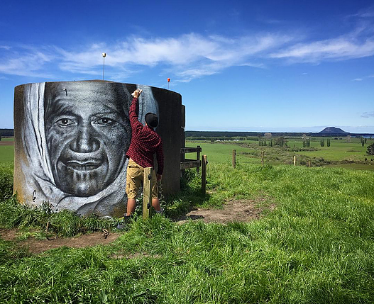 The Second Portrait in the 100 NZ Portraits Series | Image Courtesy of Graham Hoete