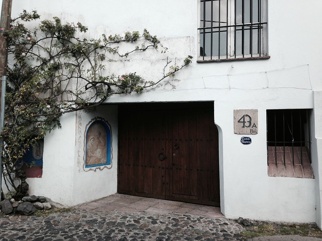 Casa Blanca, San Ángel | © Ameyalli-GE/WikiCommons