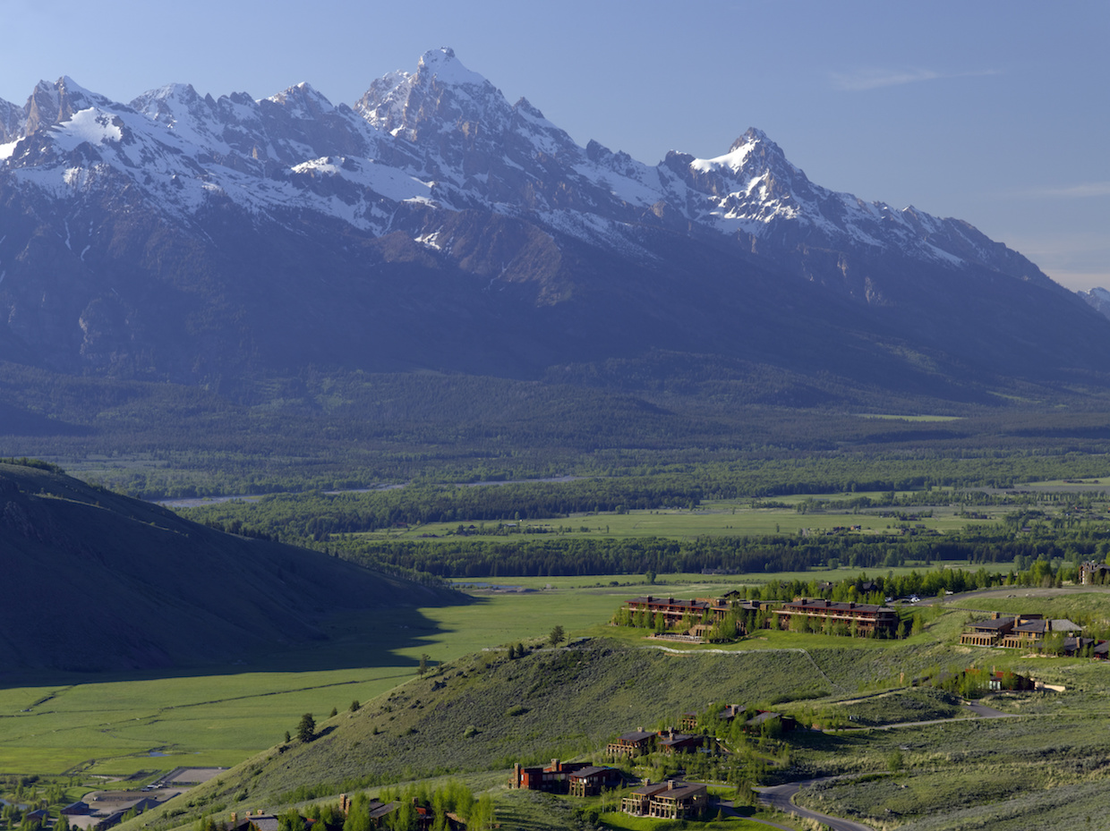 Exterior; Tetons | Courtesy of Aman