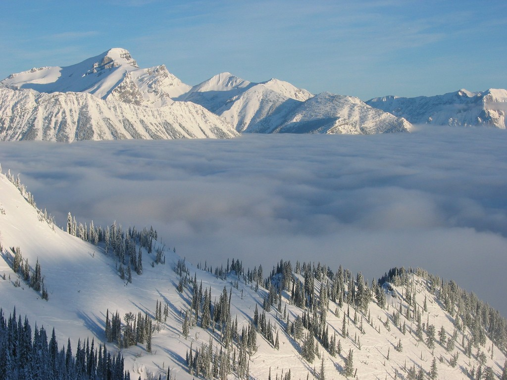 The small town of Fernie was named the 'Coolest Town in North America' by Rolling Stone | © John Johnston / Flickr