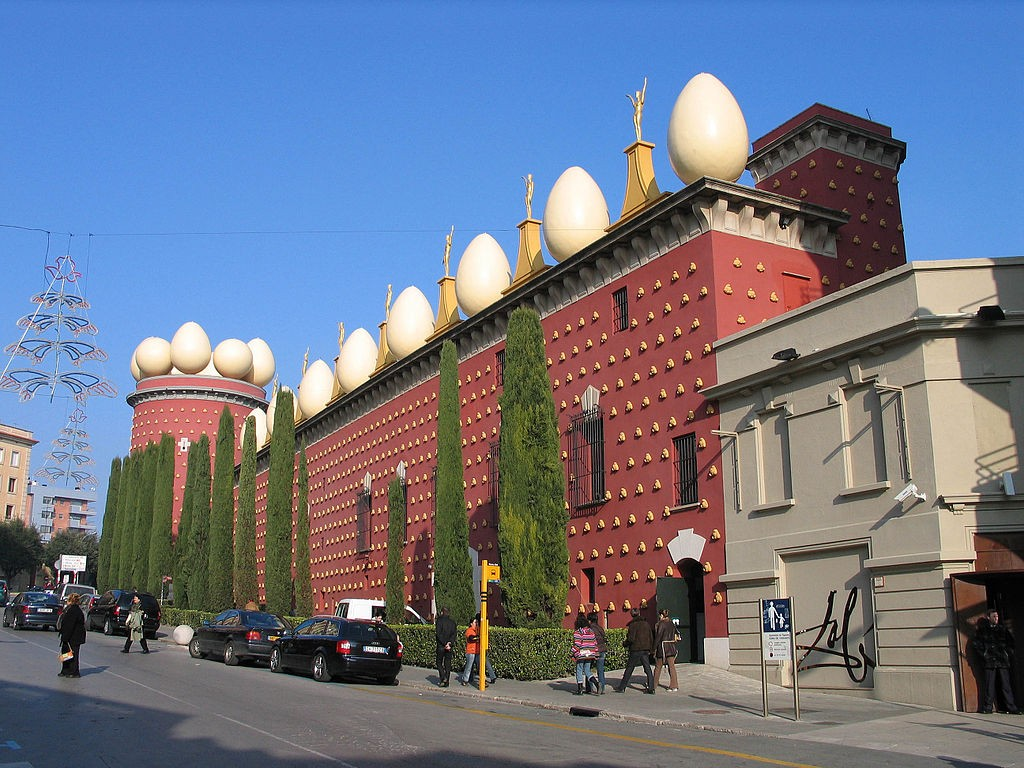 Dali Theatre Museum, Figueres | ©Luidger / Wikimedia Commons