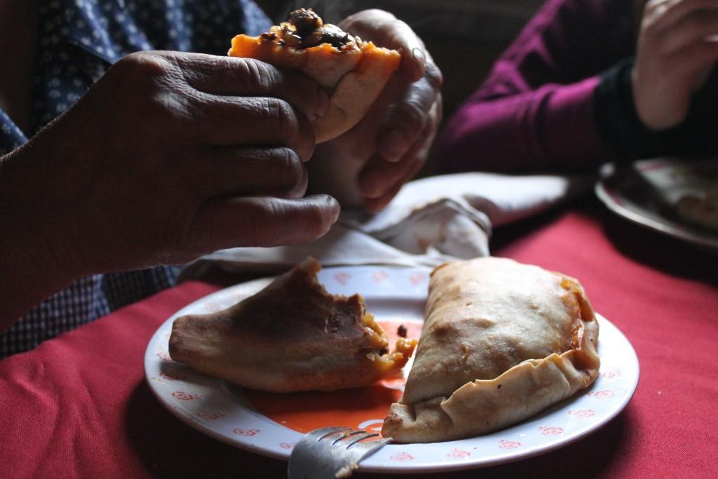 Filomena's empanada de pino courtesy of Elizabeth Trovall