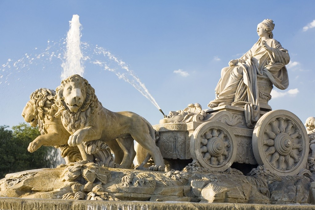 The famous Cibeles fountain and monument | © Madrid Destino Cultura Turismo y Negocio