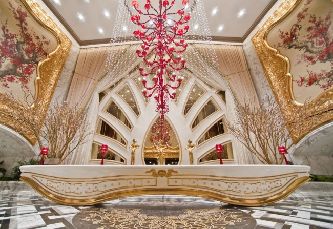 Galaxy Macau VIP Lobby | Courtesy of Galaxy Entertainment