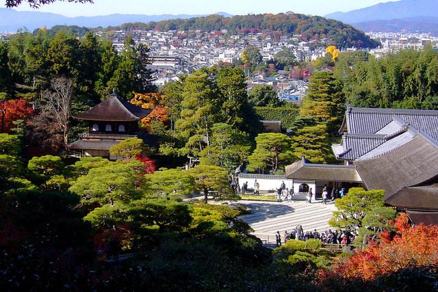 The Precincts of Ginkaku-ji Temple