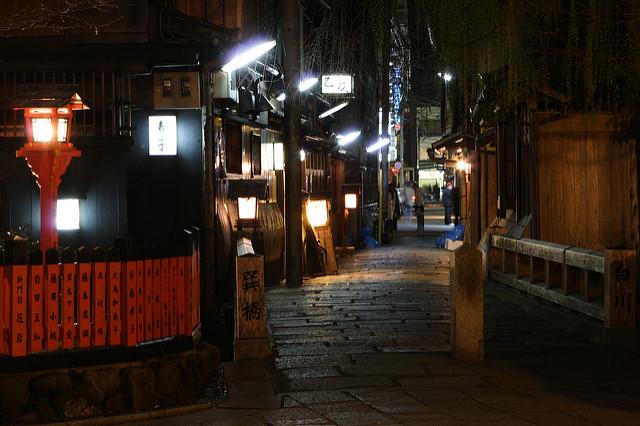 Gion Tatsumi Bridge had a starring role in Memoirs of a Geisha