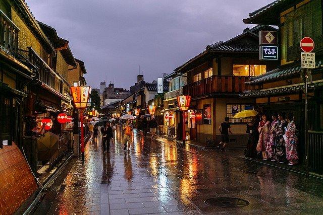 Gion street life