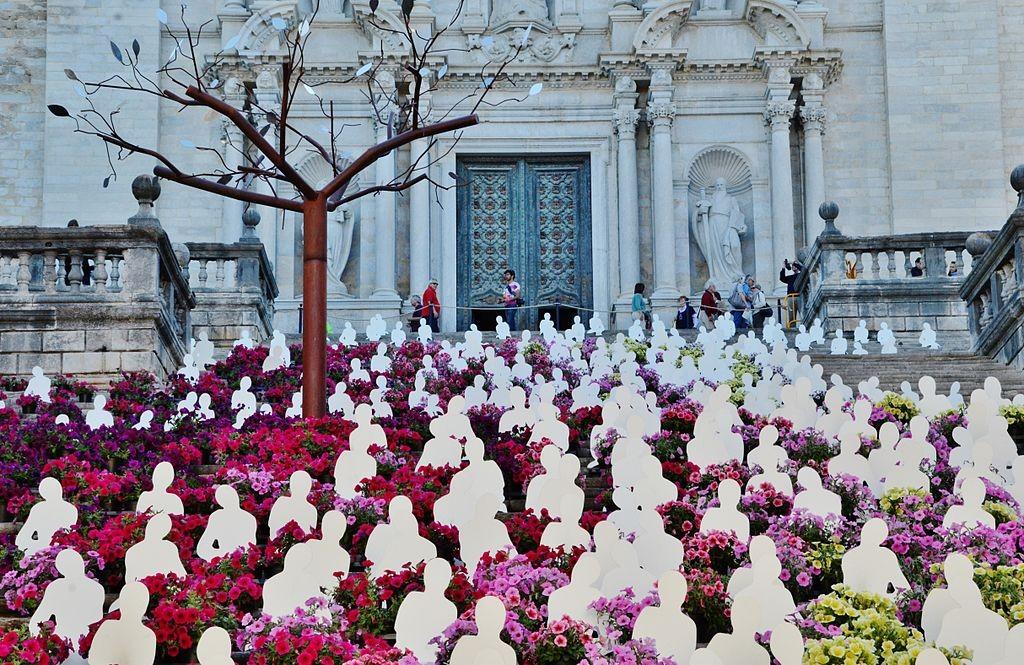 Girona flower festival | ©MARIA ROSA FERRE / Wikimedia Commons