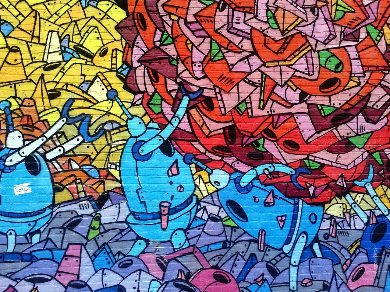 Street art | CC0 Pixabay