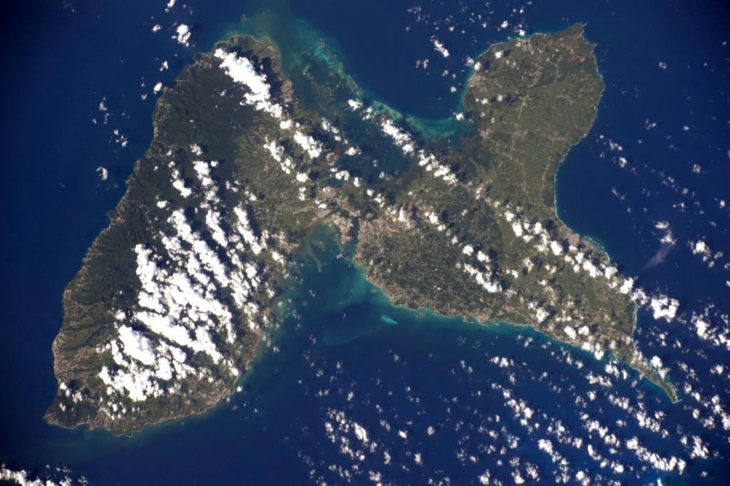 Guadeloupe │© ESA/NASA