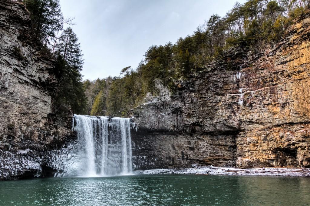 Fall Creek Falls / (c) Michael Hicks / Flickr