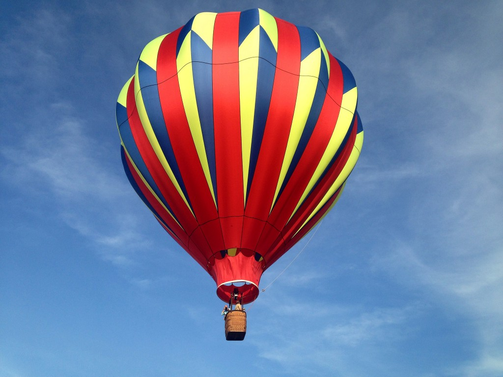 Hot Air Ballooning © Amy / Flickr