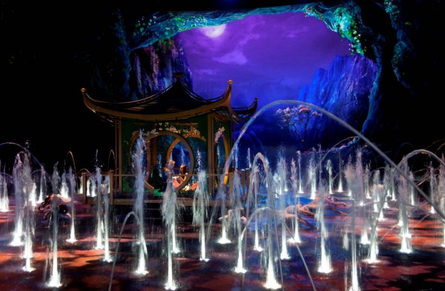 The House of Dancing Water courtesy of Dragone Entertainment