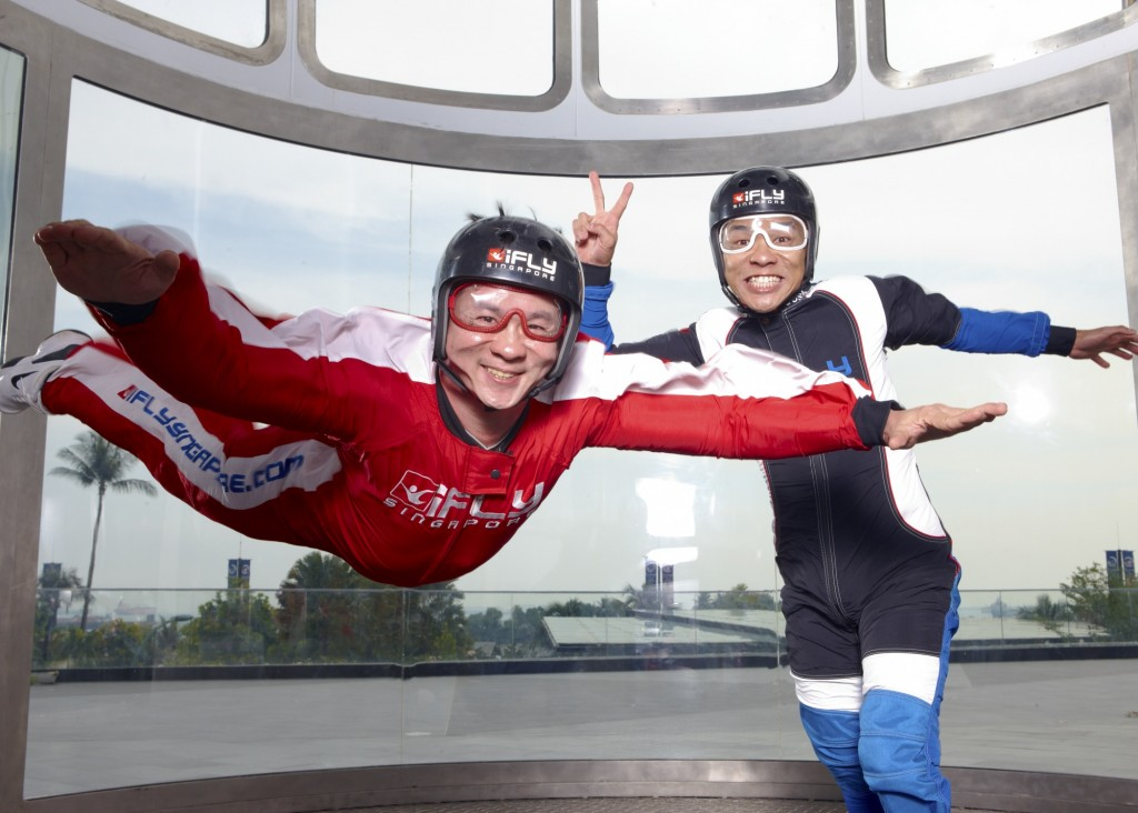 Indoor Skydiving | Courtesy of iFly Singapore
