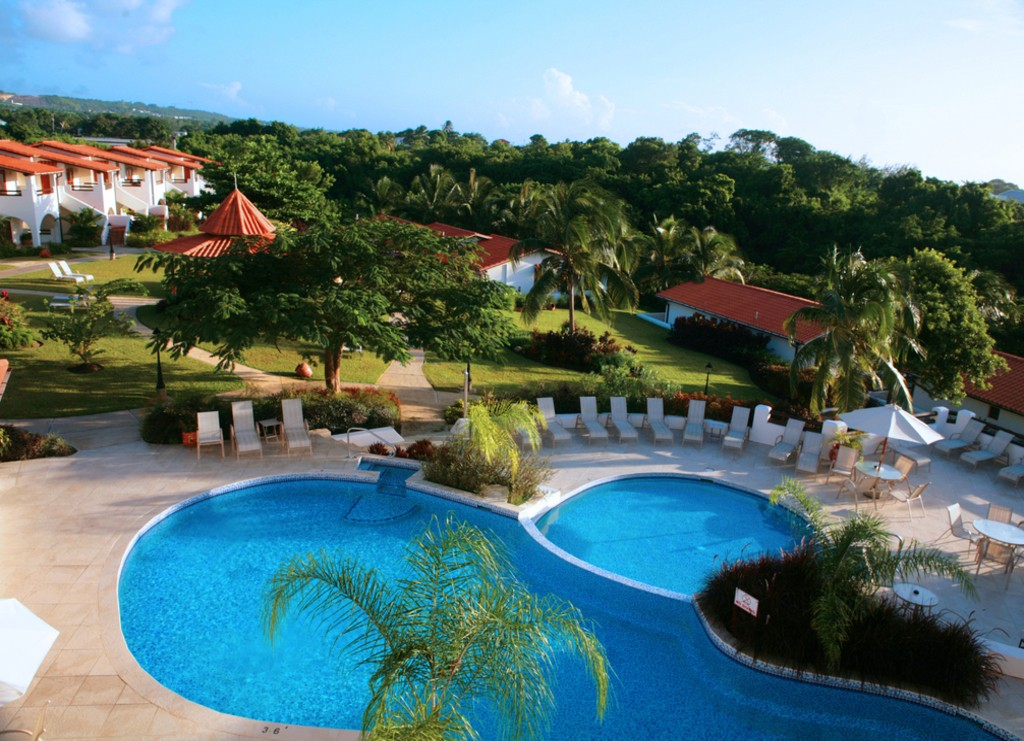 Pool and Garden | Courtesy of Sugar Cane Club Hotel and Spa