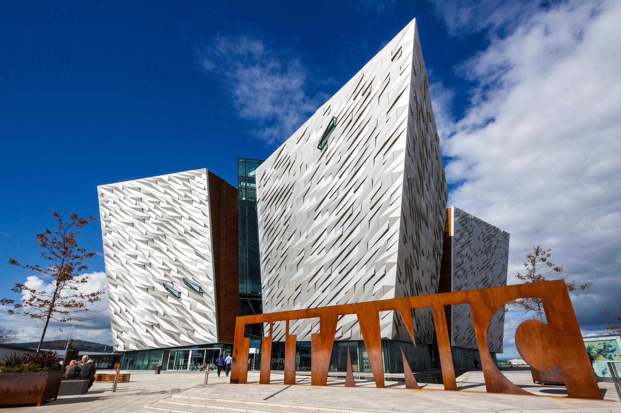 Titanic Belfast |© Nico Kaiser / Flickr