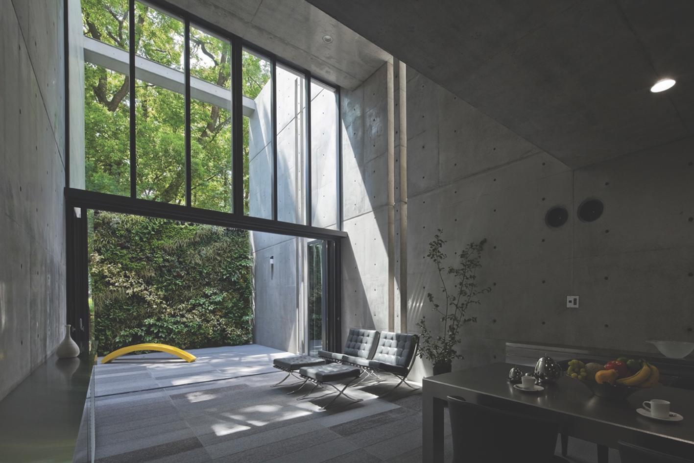 House in utsubo park tadao ando architect assoc japanese interior design books - Home interior design books ...