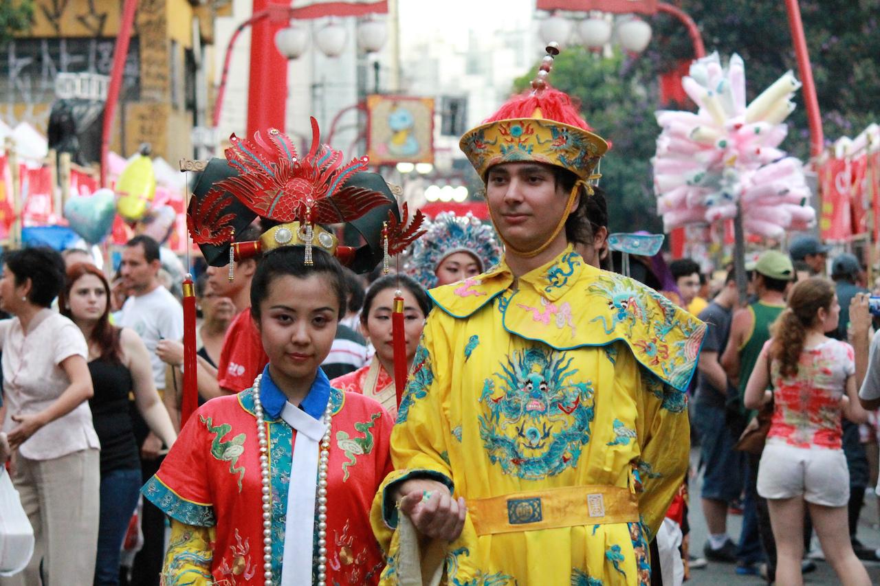 Japanese celebration at Liberdade Neighborhood   © Marcelo Munhoz/Flickr