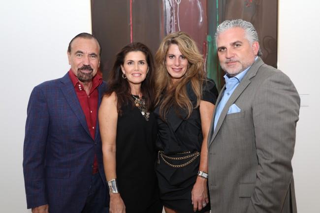 At the Art Miami 2016 VIP Preview at Art Miami Pavilion on November 29, 2016 in Miami, Florida