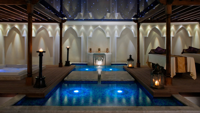 Couple's treatment Room in Talise Ottoman Spa
