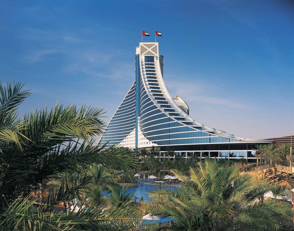 View from the Beach, Jumeirah Beach Hotel   © Courtesy of Jumeirah