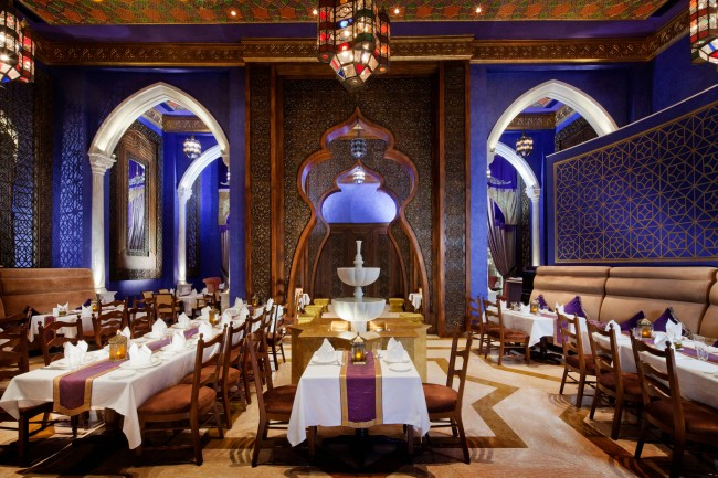 Al Nafoorah restaurant | © Courtesy of Jumeirah