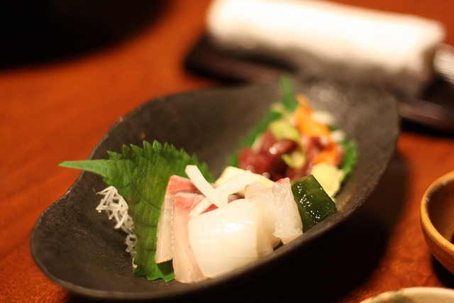 Kaiseki Ryori Sashimi