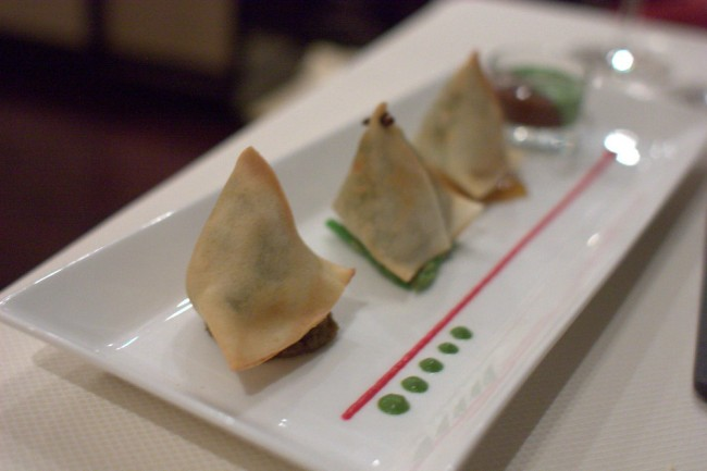 Samosas from Indego | © Krista / Flickr