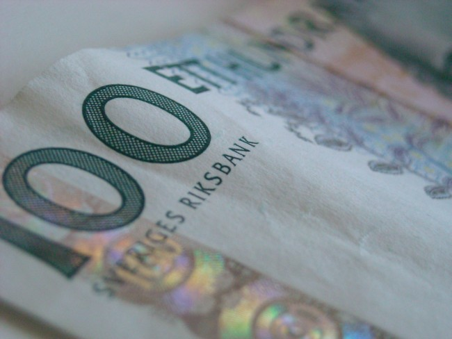 Swedish Kronor | ©Sippeangelo/Flickr
